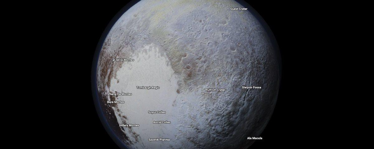 Google Maps agora permite a você explorar planetas e luas, experimente