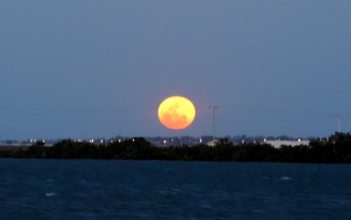 Superlua, lua de sangue e lua azul ocorrem nesta quarta; confira onde e como observar