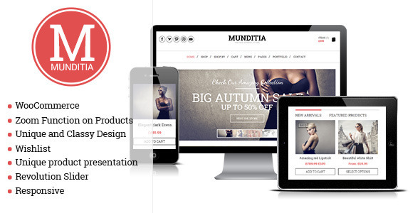 Top 10 templates de e commerce wp thecnosystem for Wordpress theme with multiple page templates