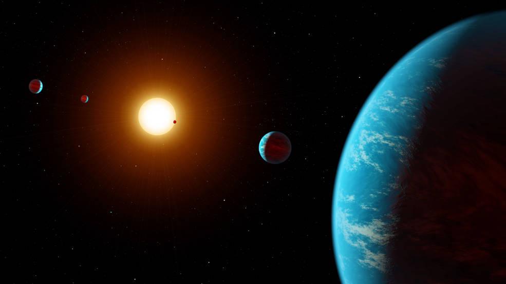 Cientistas amadores descobriram um sistema de cinco planetas