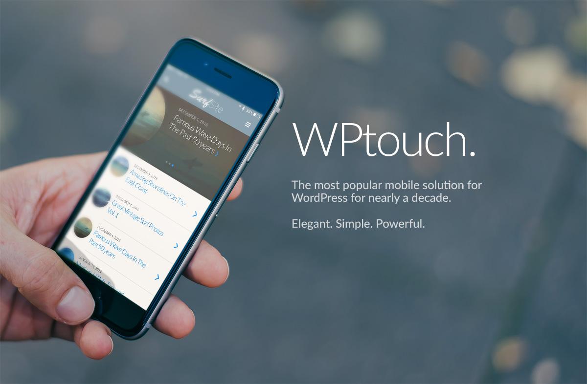WPtouch – Deixe seu site WP Responsivo