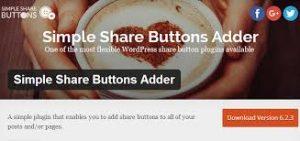 Botões redes sociais para WordPress