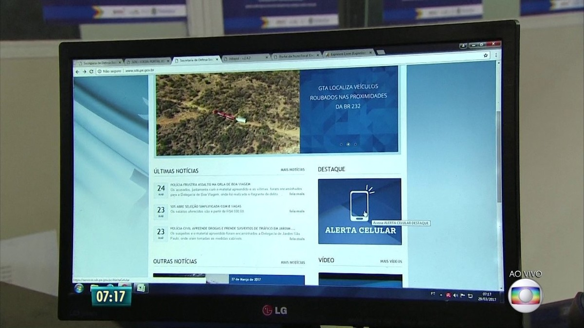 Alerta Celular já devolveu 800 celulares a vítimas de roubo