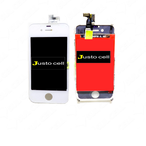 Combo Display Touch Cel Iphone 4G - Branco