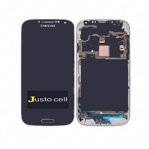 Combo Display Touch Cel Samsung S4 I9500 I9505 - Azul