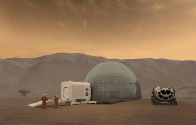 Proposta de habitação artificial em Marte
