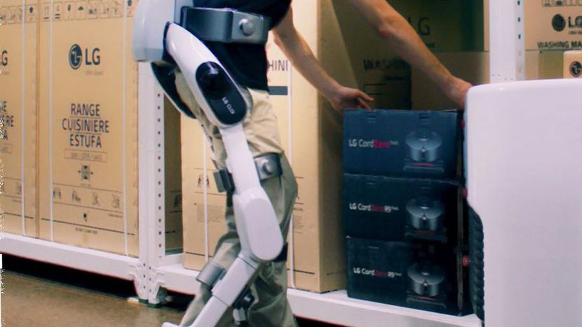 CLOi SuitBot: o exoesqueleto da LG que quer mudar a forma como se trabalha