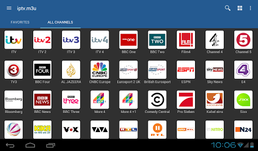 Aplicativos IPTV Android
