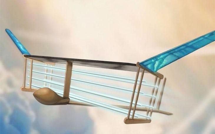 Primeiro avião sem peças móveis já voa