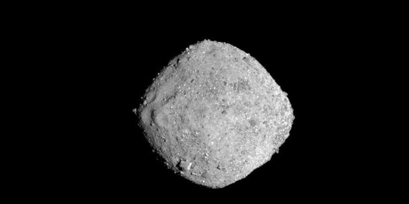 Sonda que partiu para descobrir a origem da vida encontrou água em asteroide