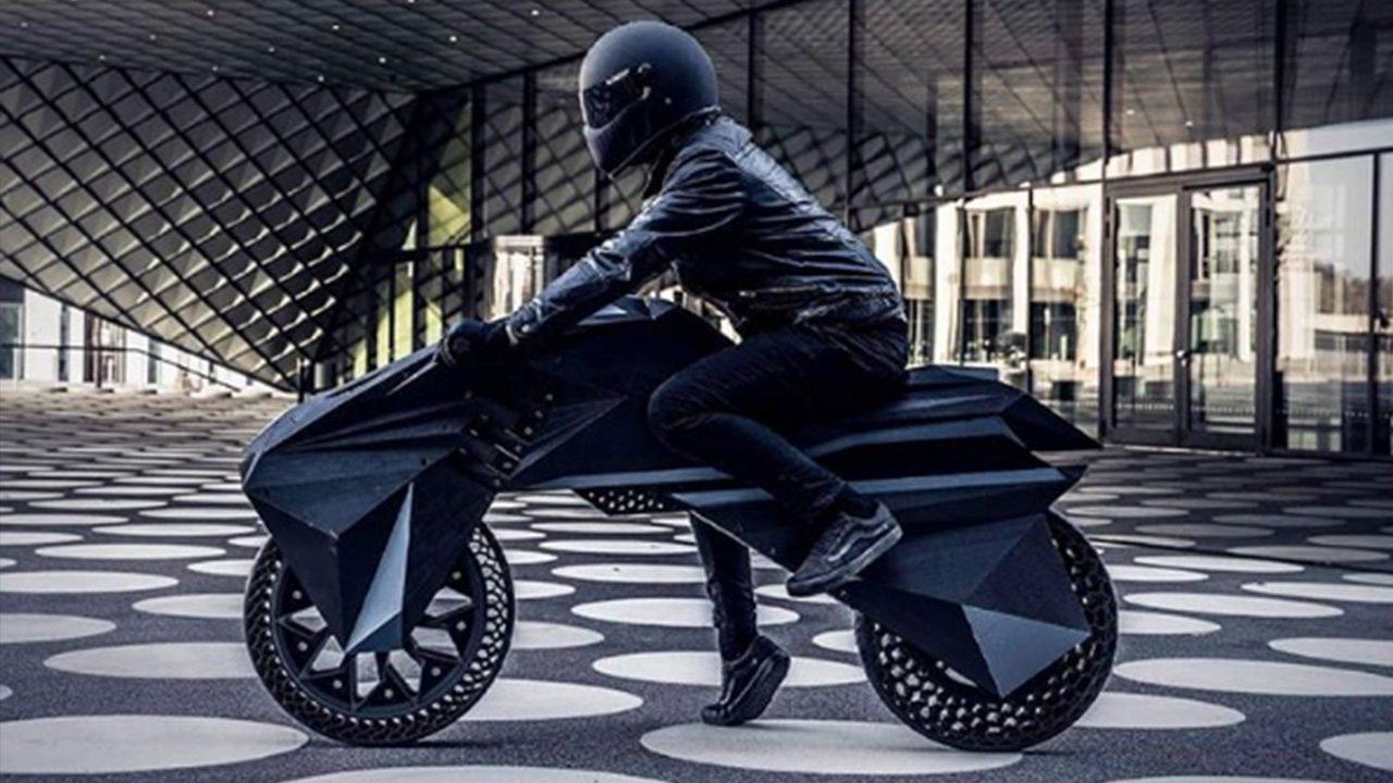 Conheça Nera, uma moto elétrica totalmente impressa em 3D