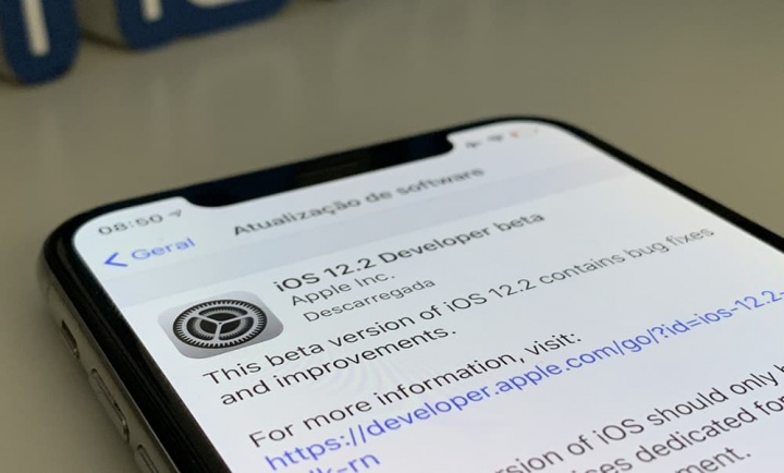 Apple lança versões beta iOS 12.2 e watchOS 5.2 para programadores e traz novidades
