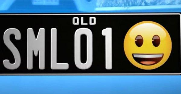 Austrália vai permitir ter emojis nas placas dos carros