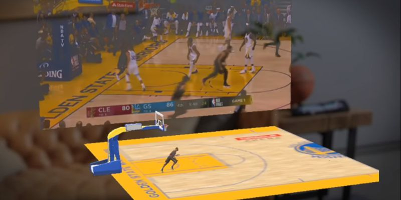 Magic Leap: já é possível assistir a partidas de basquetebol em realidade aumentada