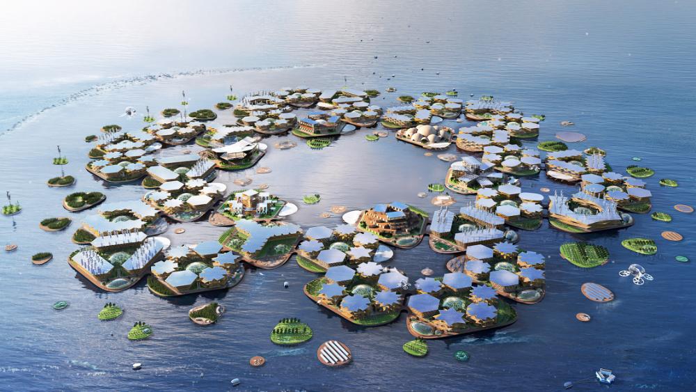 Oceanix City: as cidades flutuantes que poderão ser o futuro