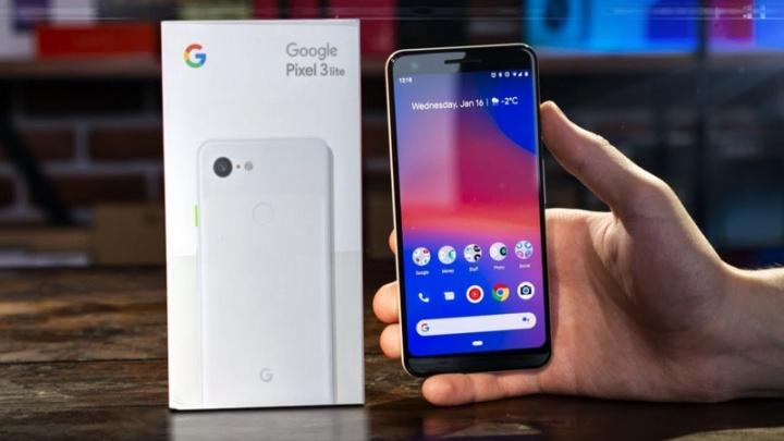 O smartphone Google Pixel 3a