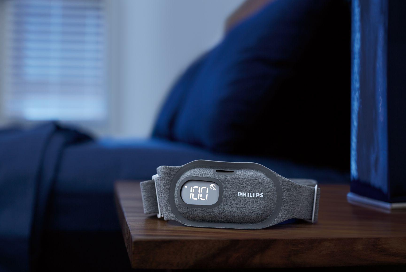 Philips tem um novo sensor para melhorar o sono e evitar que ressone