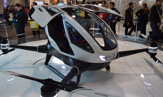 Bosch quer colocar no ar táxis voadores a partir de 2023