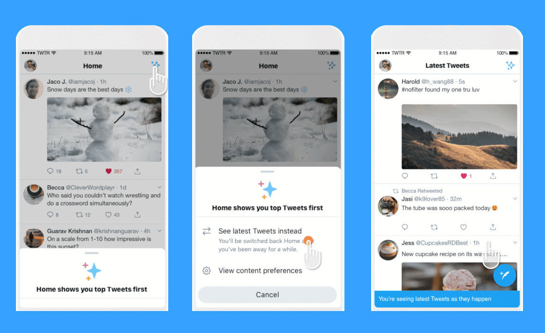 Twitter traz novidades animadas para as aplicações Android, iOs e Web