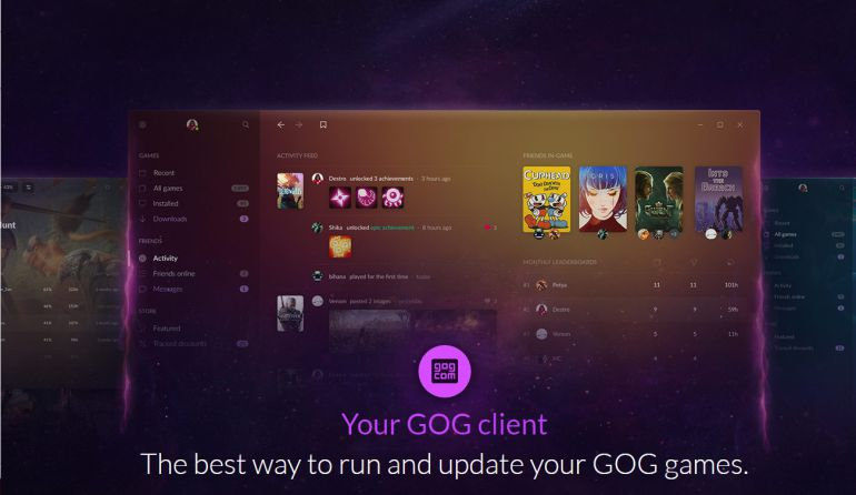 GOG Galaxy 2.0 quer unificar todos os jogos e jogadores. Não importa a plataforma