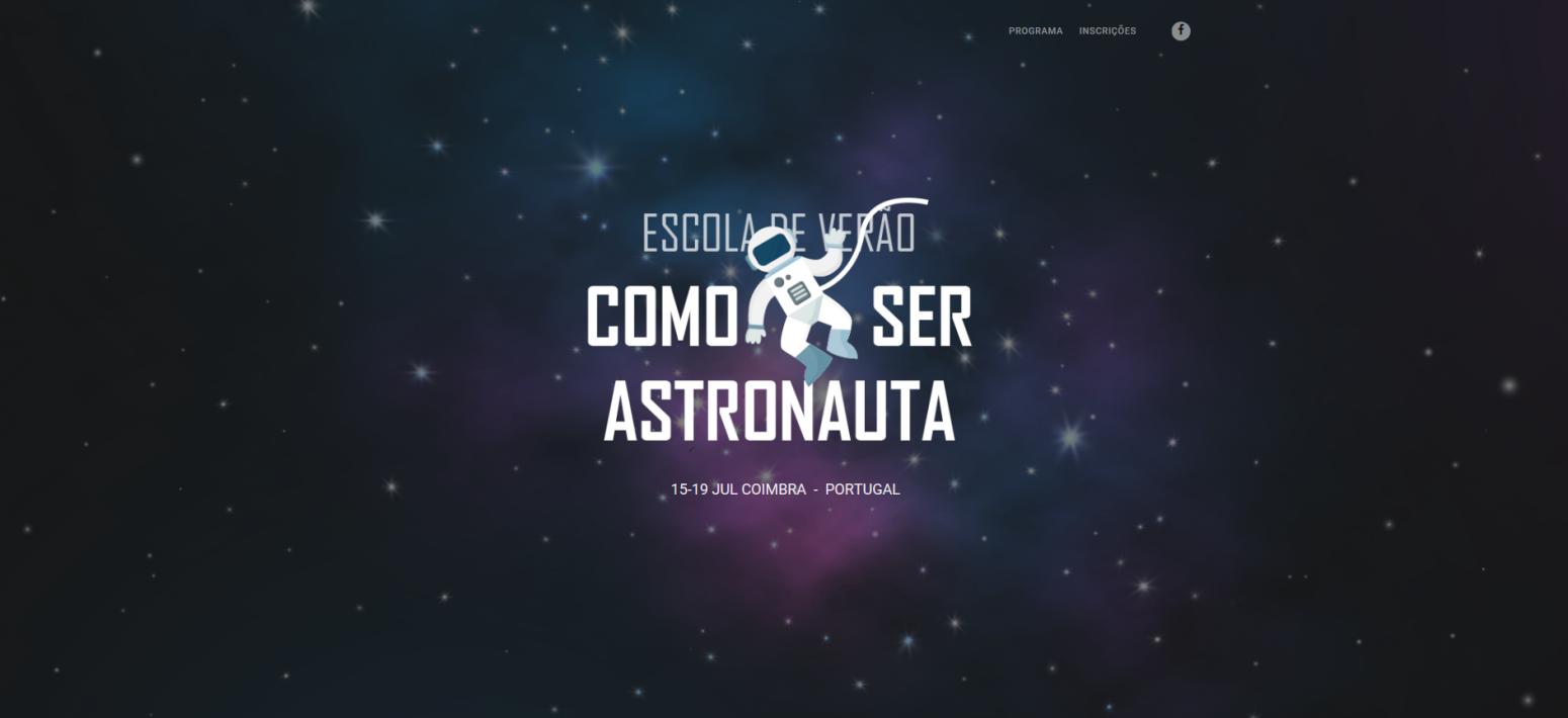 O que é preciso para ser astronauta? A resposta está numa escola de verão para jovens em Coimbra