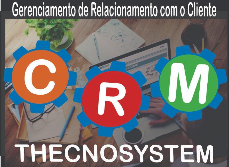 CRM THECNOSYSTEM – Gerenciar Clientes, Projetos E Criar Faturas Na Nuvem