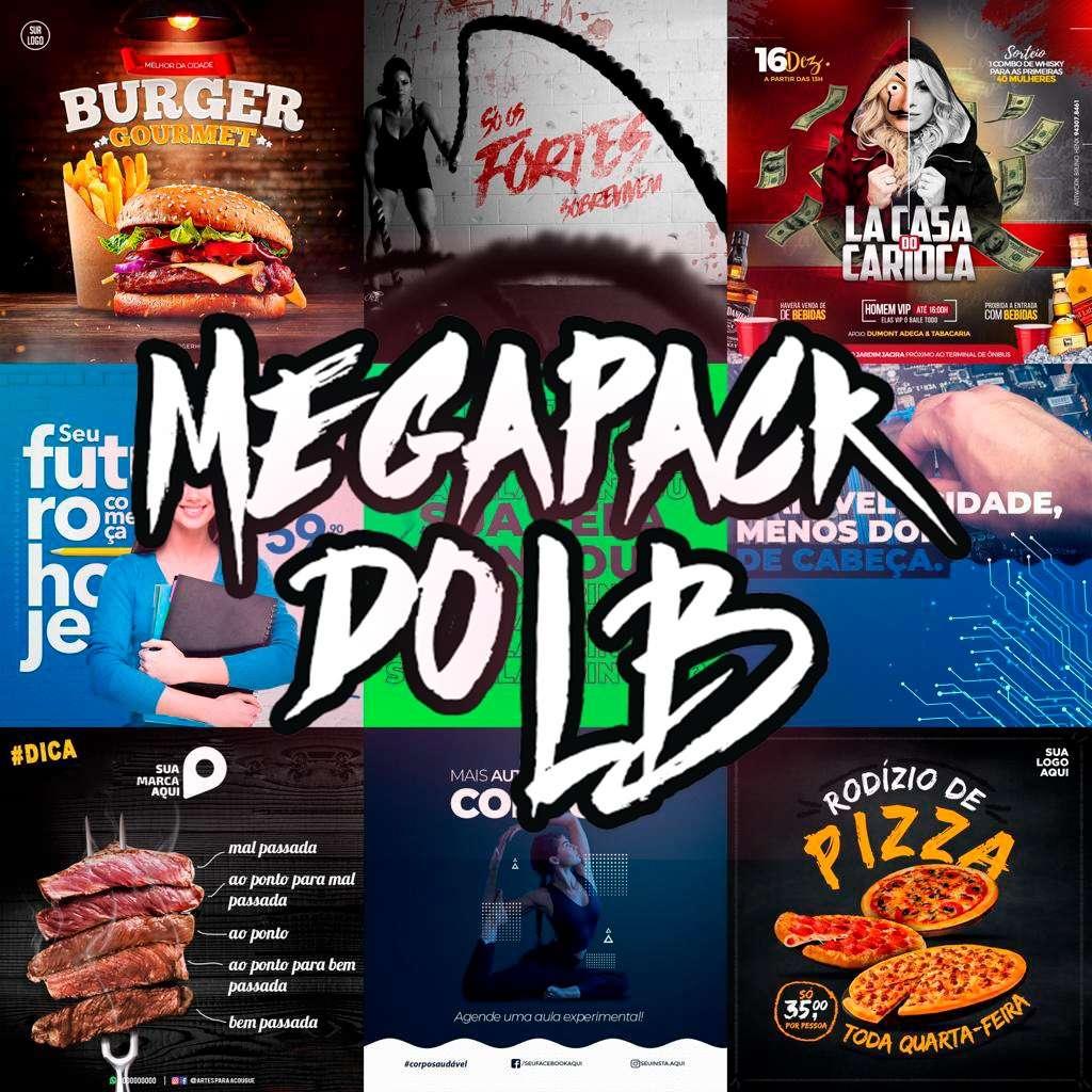 Mega Pack arquivos PSD